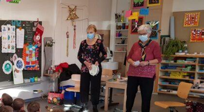 Conterie masquée Marie-Claire et Sylvie